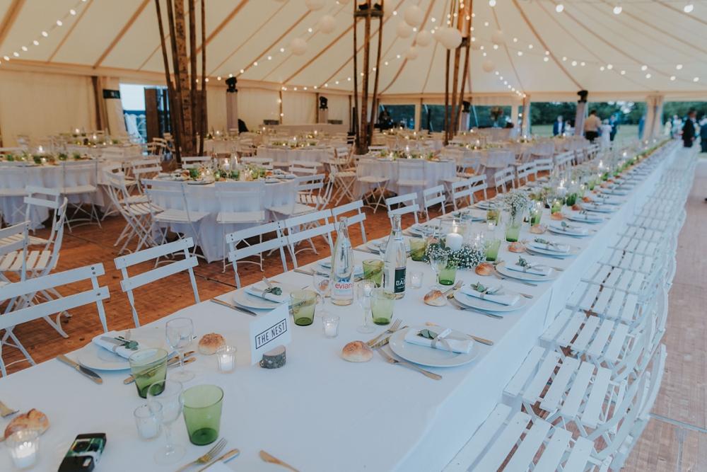 Mariage Tente Bambou à la maison