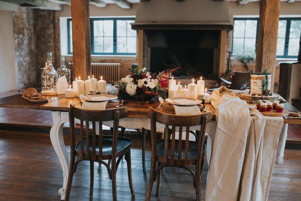 inspiration mariage hivernal giverny. Black Bedroom Furniture Sets. Home Design Ideas