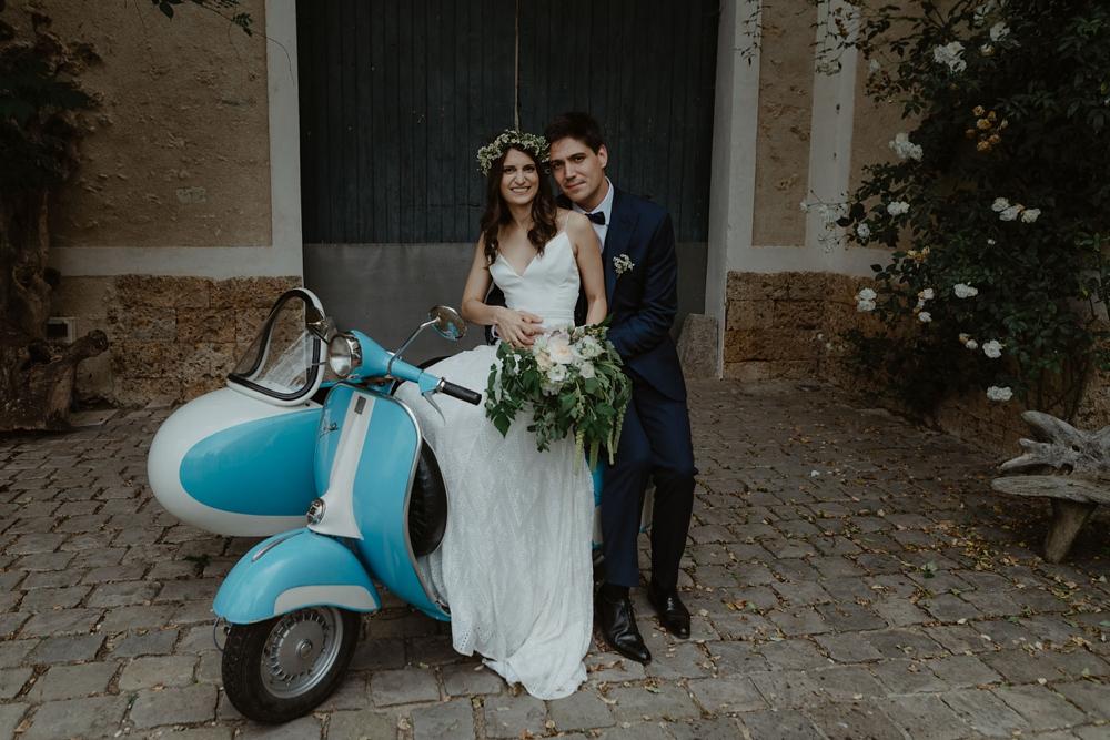 Mariage au Domaine de Quincampoix - Mariage franco-canadien laïque en extérieur avec robe Rue de Seine - Emmanuelle Auzou photographe de mariage