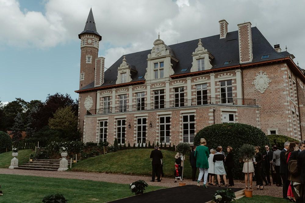Photographe Mariage Lille - Marine et Alexandre Mulliez Mariage dans le Nord - Château de la Fontaine à Croix