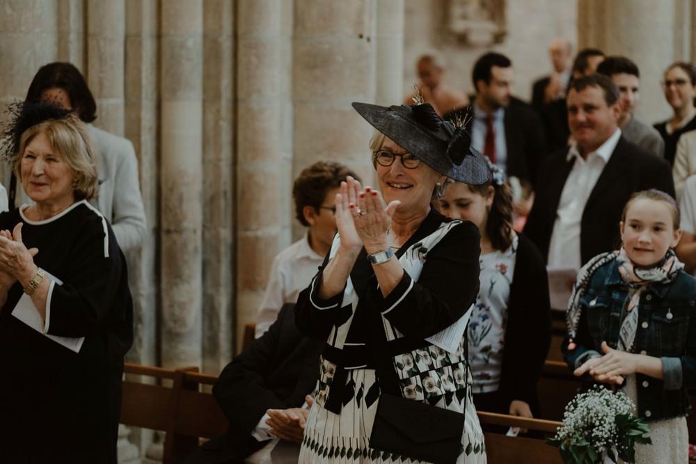 Photographe de mariage à l'Orangerie Saint Jean à La Chapelle sur Dun en Normandie - Eglise du Bourg Dun