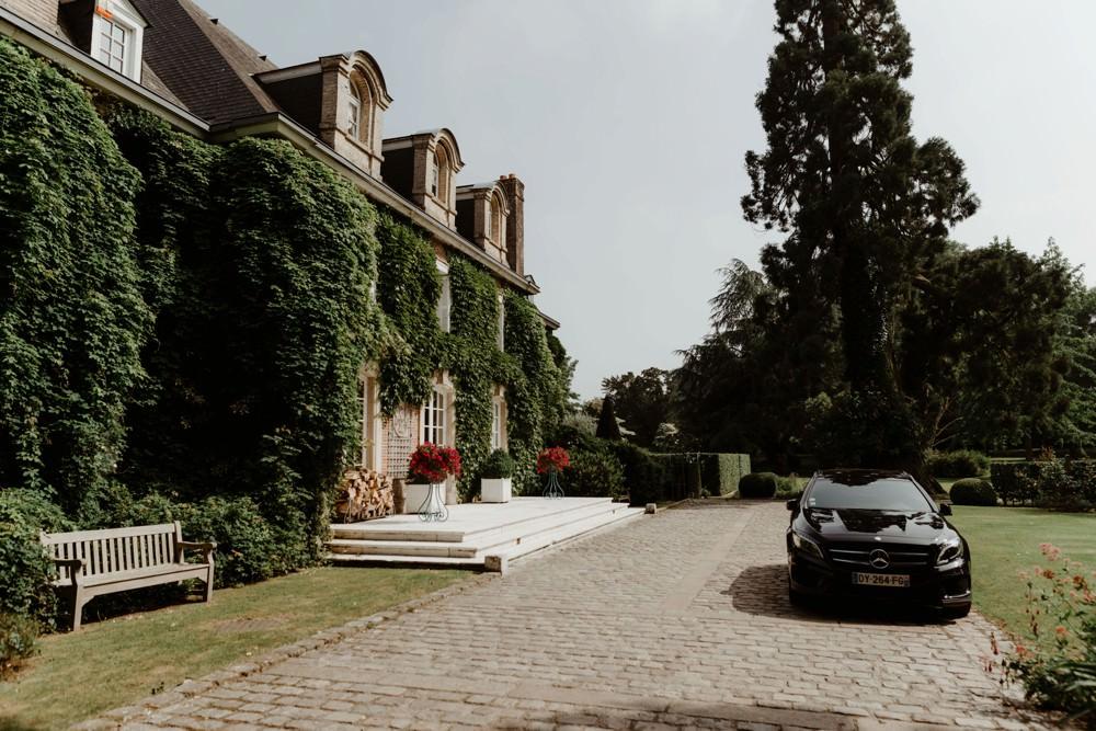 Photographe de mariage à l'Orangerie Saint Jean à La Chapelle sur Dun en Normandie - Salle de réception à la campagne