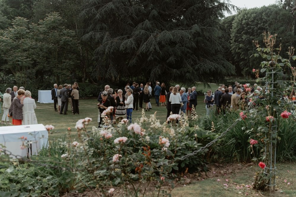 Photographe de mariage à l'Orangerie Saint Jean à La Chapelle sur Dun en Normandie - Salle de réception à la campagne, mariage sous tente