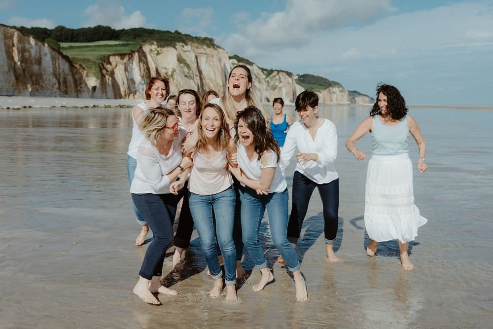 EVJF Normandie Enterrement de vie de jeune fille par Emmanuelle Auzou Photographe - Activité originale pour EVJF ou anniversaire
