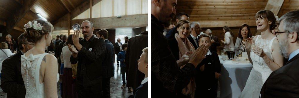 Photographe Mariage Granville - Vidéaste Mariage Granville - Cérémonie laïque au domaine de la Guérie à Coutances dans la Manche