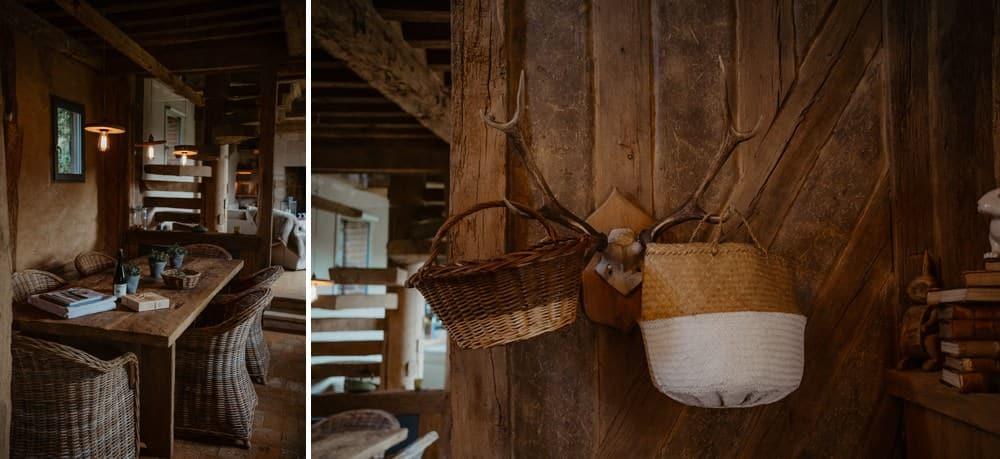 Un mariage laïque dans le Calvados - Mariage sous tente nomade et décoration vintage