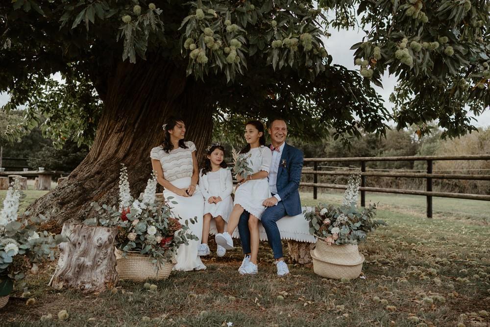 Un mariage laique dans le Calvados - Mariage sous tente nomade et décoration vintage