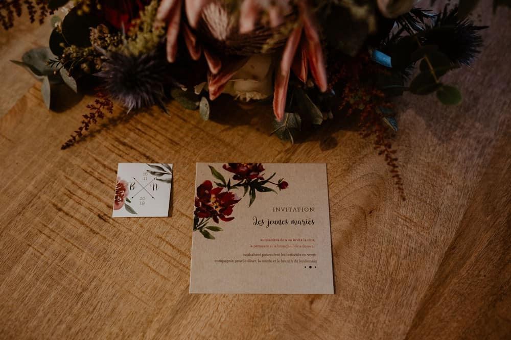 Papeterie de mariage - Vogue Wedding - Photographe et Vidéaste de Mariage en Normandie
