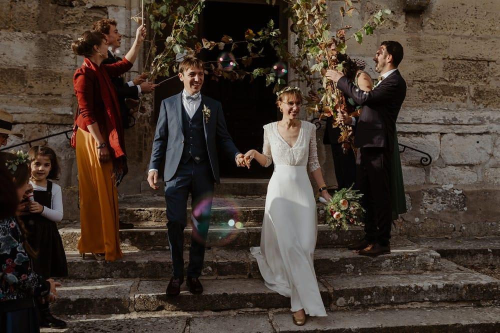 Mariage hygge et folk dans une jolie grange normande aux couleurs de l'automne