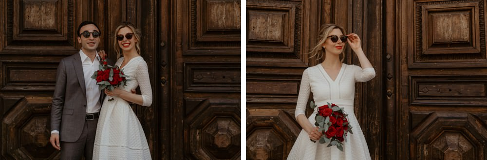 Reportage mariage à la mairie avant le mariage religieux - Emmanuelle Auzou photographe et vidéaste en Normandie